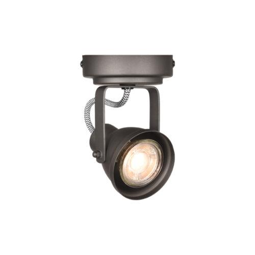 LABEL51 Spot Max led - Grijs - Metaal - 1 Lichts