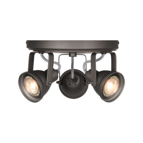 LABEL51 Spot Max led - Grijs - Metaal - 3 Lichts