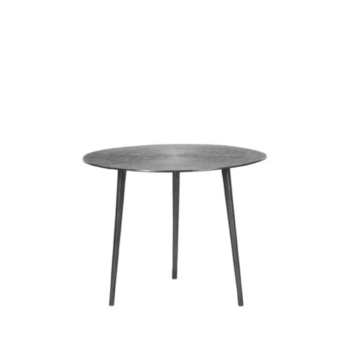 LABEL51 Coffee table Nobby - Antique ash - Metal - 50 cm