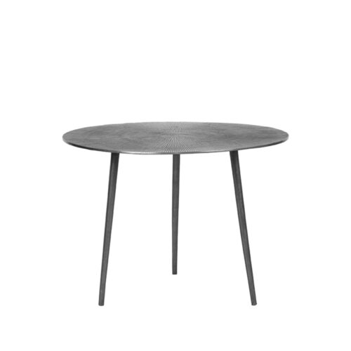 LABEL51 Coffee table Nobby - Antique ash - Metal - 60 cm