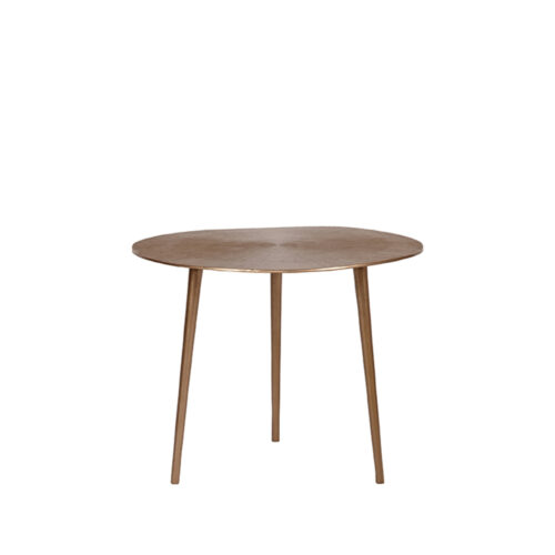 LABEL51 Coffee table Nobby - Antique gold - Metal - 50 cm