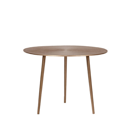 LABEL51 Coffee table Nobby - Antique gold - Metal - 60 cm