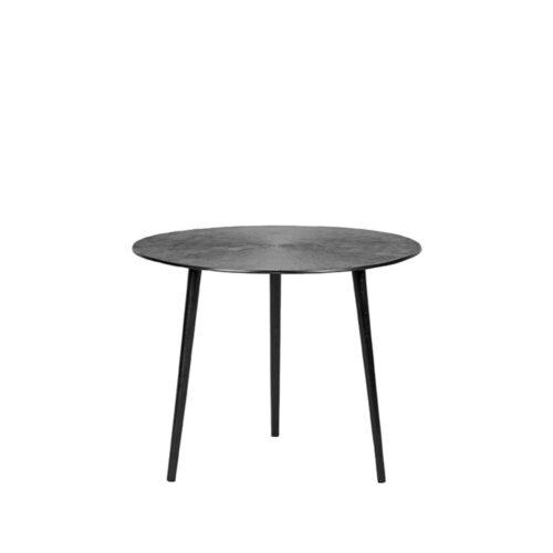 LABEL51 Coffee table Nobby - Black - Metal - 50 cm