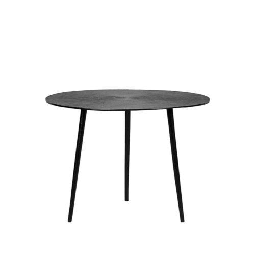 LABEL51 Coffee table Nobby - Black - Metal - 60 cm