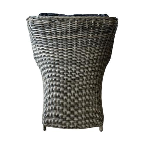 Tuinstoel King - Wicker - Grijs - WGXL Collection