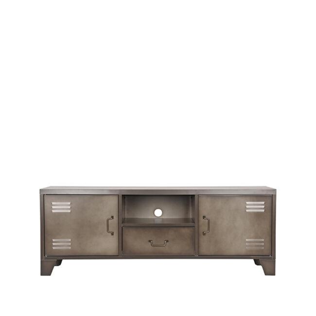 LABEL51 Tv-meubel Fence - Vintage Metaal - Metaal - SL-51.011