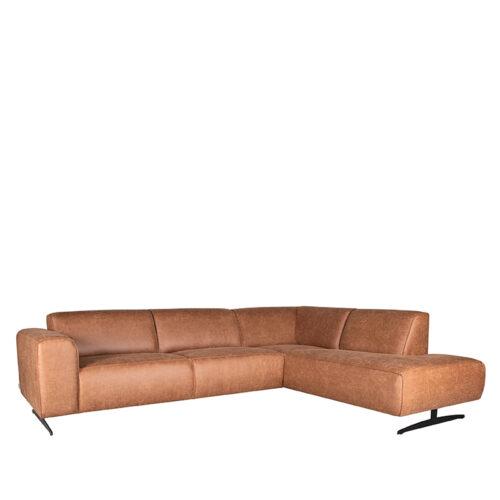 LABEL51 Hoekbank Modena - Cognac - Leder - 2
