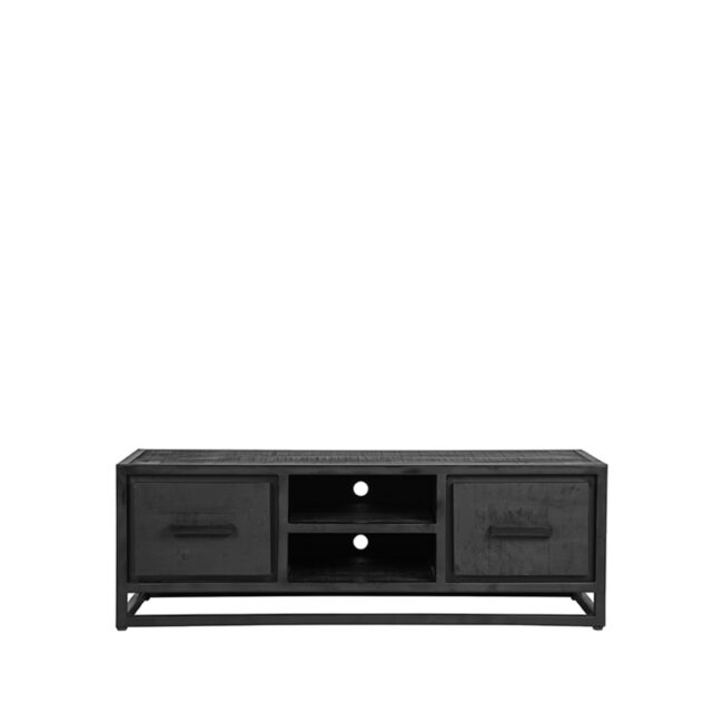LABEL51 Tv-meubel Chili - Zwart - Mangohout - JP-46.029