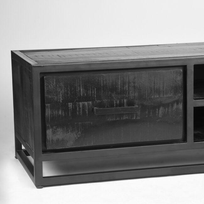 LABEL51 Tv-meubel Chili - Zwart - Mangohout - JP-46.028