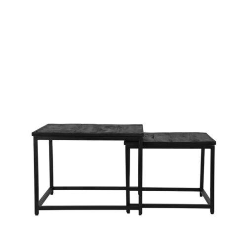 LABEL51 Couple Coffee Table - Black - Mangohout