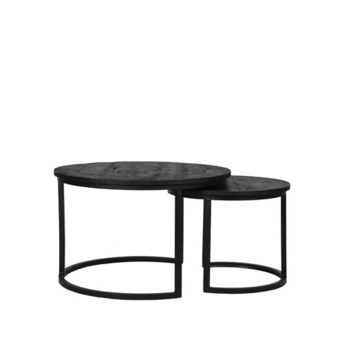 LABEL51 Coffee Table Double - Black - Mangohout