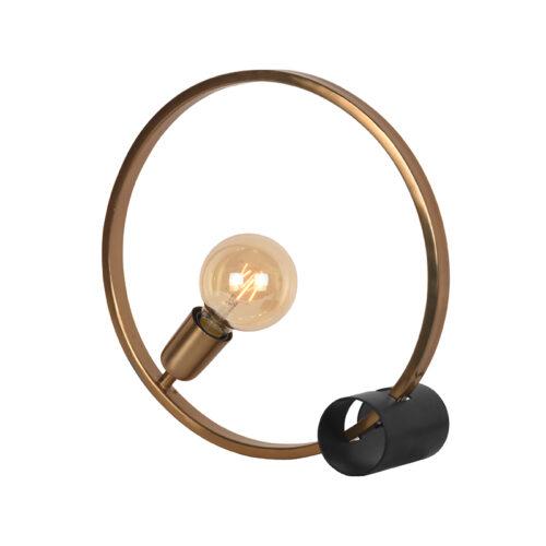 LABEL51 Tafellamp Ring - Goud - Metaal