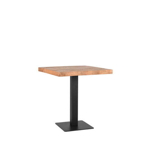 LABEL51 Restauranttafel 70x70x78 cm - Bruin - Hout