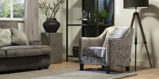 Fauteuil Parma - 200 meubelstoffen - UrbanSofa - WiegersXL